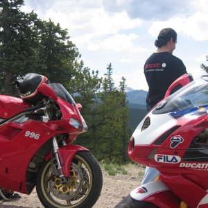 A Monster, a 996, a 999R-Fila in the Rockies-4
