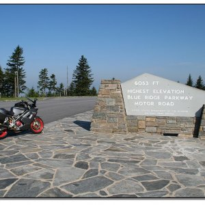 Top of the Blue Ridge Parkway