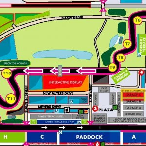 Indy Track Map