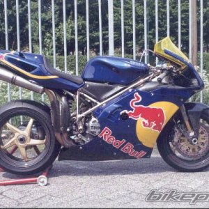 the 996 as Redbull replica