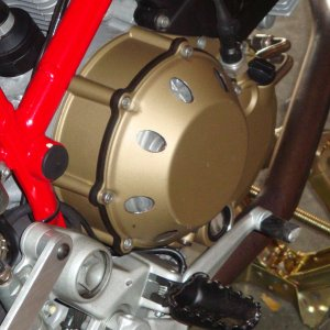 Homemade Vented Clutch Cover