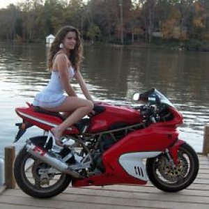 My Ss And The Ducati Girl From Bellisimoto