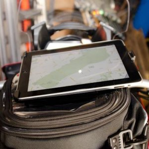 Ram Mount For Ipad On Mts 1200s