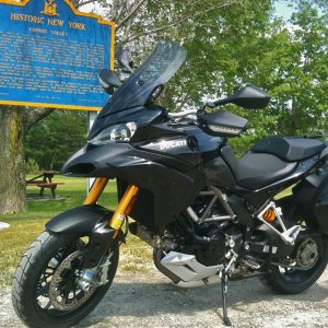 2010 Multistrada 1200s Touring Black
