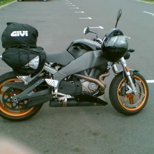 Buell Xb12ss For Traveling