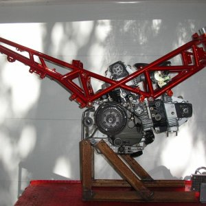 St2 Frame On Stand