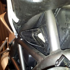 Multistrada 1200 Airintake Modification