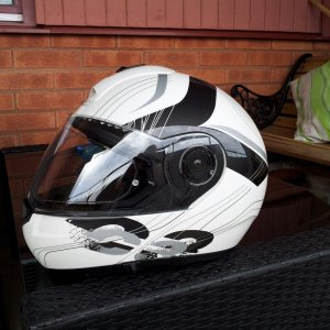 Schuberth C3 Stripes White