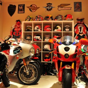 Part of my 15 Ducati collection