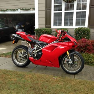 Forget My 2 Front Teeth, I Want A Ducati.