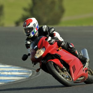 Damo At The Track Eastern Creek Turn 9  2011