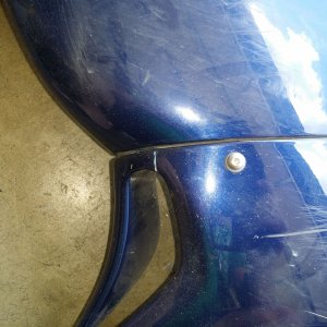 Lower Fairing Repair - Outside