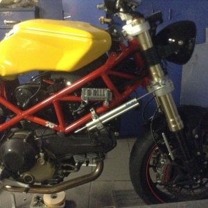 Hypermotard Cafe Racer Project