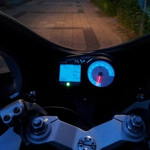 ducati by night